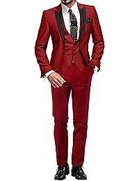 Amazon.es  Rojo - Trajes y blazers   Hombre  Ropa 221125dc0c6