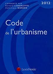 Code de l'urbanisme 2012