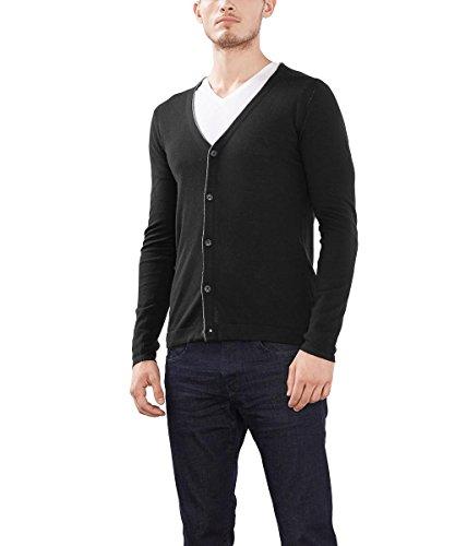Esprit 996eo2i901, Pull Homme Noir (BLACK 001)