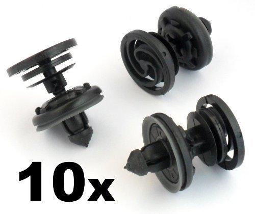 /& Tapis 10x BMW 8mm Rivet Plastique Bordure Clips pour Coffre Garnitures