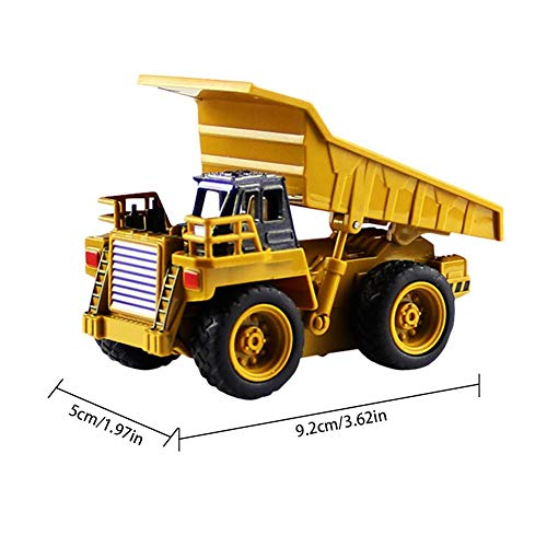 RC Auto kaufen Baufahrzeug Bild 4: Kinder RC Baufahrzeuge Modellbau Spielzeugauto - Fernbedienung Bagger Muldenkipper & Bulldozer Spielzeug für Kleinkinder, Kinder - Bau Spielzeug Traktor von Libertey*