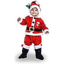 Amazones Disfraz Papa Noel Bebe 3 4 Anos - Disfraces-papa-noel-bebe
