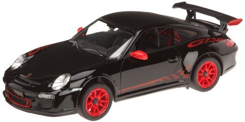 R/C Auto Mondo-Macchina radiocomandata Porsche GT3 RS nera Scala 1:14