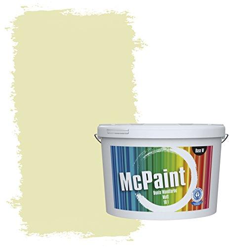 McPaint Bunte Wandfarbe Pistazie - 5 Liter - Weitere Grüne Farbtöne Erhältlich - Weitere Größen Verfügbar