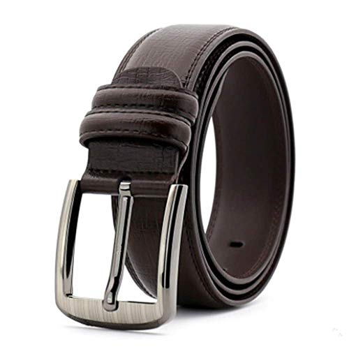 Fashion Men Genuine Leather Luxury Strap Male Belts Buckle Fancy Vintage