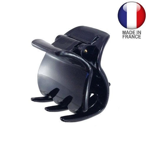 748 – 001 – Pince pour cheveux français cm 3 couleur noir – Pinces pour Cheveux