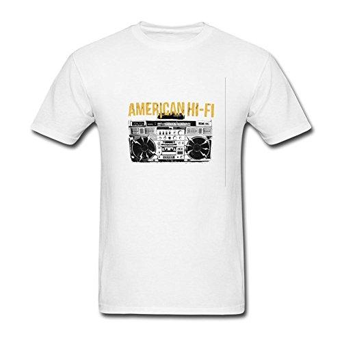 UKCBD -  T-shirt - Uomo bianco (American Heart Baby T-shirt)