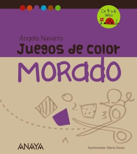 Juegos de color morado por From ANAYA INFANTIL Y JUVENIL