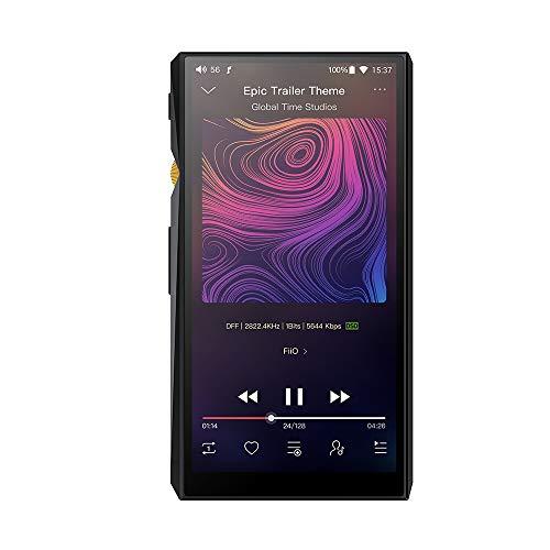 FiiO M11 Android High Resolution Lossless Music Player with aptX, aptX HD, LDAC HiFi Bluetooth, USB Audio/DAC, DSD256 Support and...