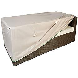 cov' Up Funda para de sofá de jardín 130x 75x 60cm, Taupe