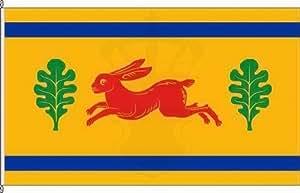 Königsbanner Hochformatflagge Hasenkrug - 80 x 200cm - Flagge und Fahne