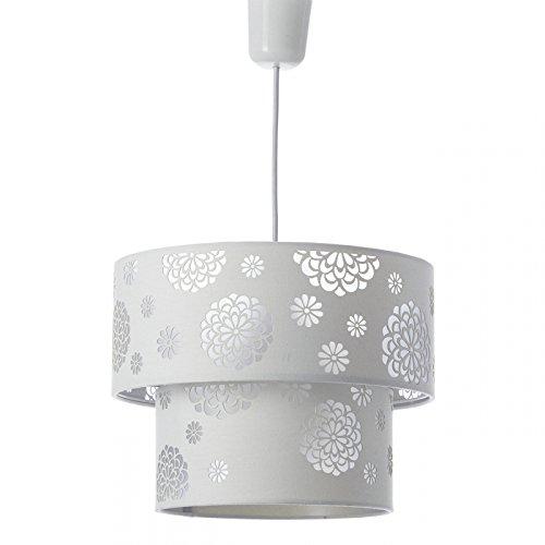 Lámpara de techo moderna blanca de poliéster para salón Fantasy - Lola Derek