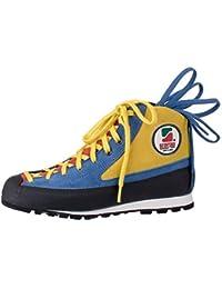 Scarpa - Zapatillas de Baloncesto de Cuero para Hombre True Blue Red