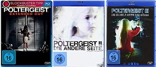 Poltergeist 1-3 (1+2+3, Trilogie) [Blu-ray Set]