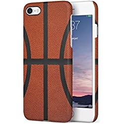 Basketball Apple iPhone 7 / iPhone 8 SnapOn Hard Plastic Phone Protective Carcasa Cubierta Case Cover
