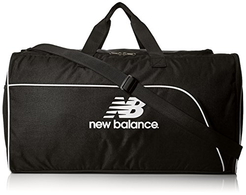 New Balance Adult Training Day Duffel Bag, Black, One size