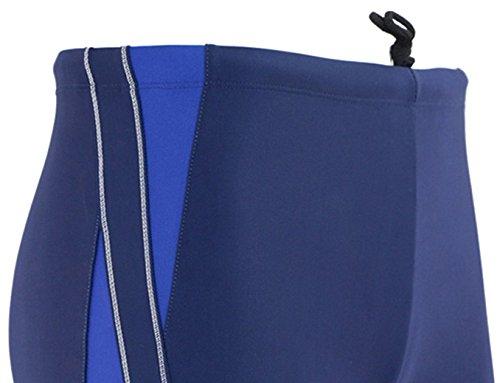 Panegy Herren Badehose Polyester Sommer Badeshorts Sexy Drachen Drucken Männer Schwimmhose Short Badehosen Boxer Brief - Größe/Farbe Wählbar Blau 1