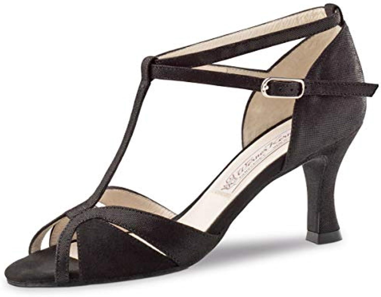 Werner Kern Femmes Chaussures de Danse Ida - Suéde Noir 6,5 - Étroit - 6,5 Noir cmB07KCRSWX9Parent 95b9da