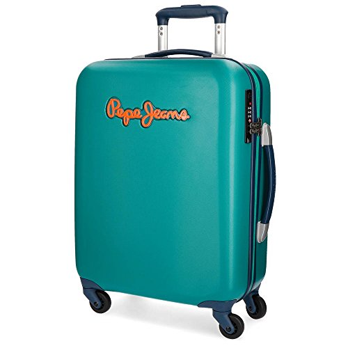 Pepe Jeans Bristol Green Rigid Cabin Trolley