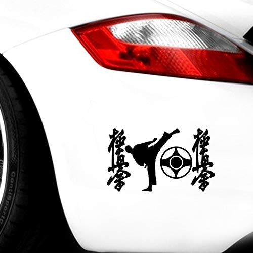 autoaufkleber 12 * 20 Cm Symbole Von Karate Coole Grafiken Lustige Auto Aufkleber Und Aufkleber Auto Auto Styling Aufkleber Für Auto Laptop Fenster Aufkleber