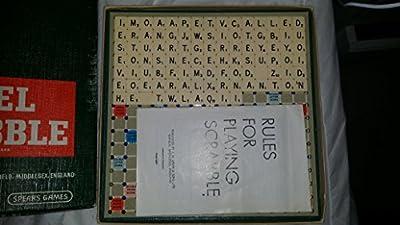 Vintage 1960de voyage Scrabble par Spears Jeux