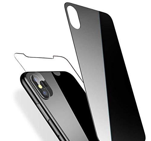 iPhone X Panzerglas Schutzfolie 9H Gehärtetes Glas Hüllenfreundlich Ultra Clear Anti-Kratzer Blasenfrei Tempered Displayschutzfolie Panzerglas für iPhone X 3D Touch Kompatibel