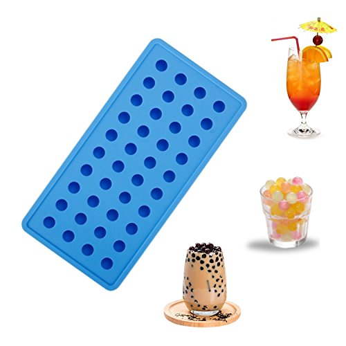Vigorlife Eiswürfelform aus Premium Silikon für 40 perfekte Mini Eiskugeln. - Moulds Molds Silikon
