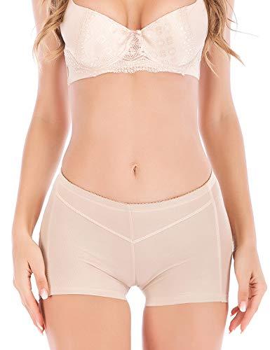 AFUT Damen Butt Lifter Unterwäsche Po Lift Höschen Booty Push up Panty Enhancer Boyshorts Miederhose FormSlips -