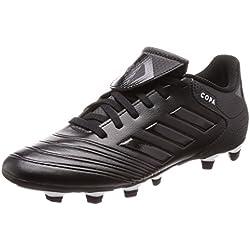 adidas Copa 18.4 FxG, Zapatillas de Fútbol para Hombre, Negro Footwear White/Core Black 0, 43 1/3 EU