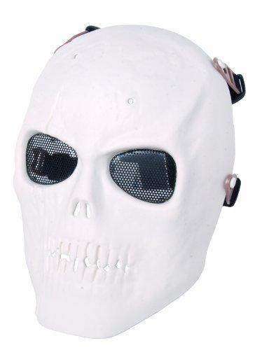 GSG Totenkopfmaske, weiß, 203899