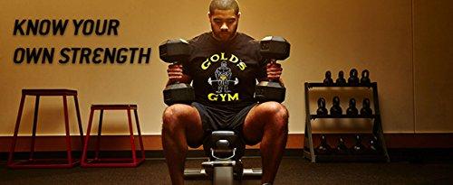 Goldsgym Muscle Joe T-Shirt Bianco
