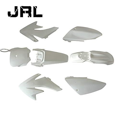 JRL Kit Carénage plastique 7 pièces Pour CRF50 - Dirt bike / Pit bike / Mini Moto