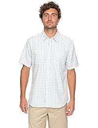Quiksilver Waterman Wake Plaid 2 - Technical Short Sleeve Shirt For Men