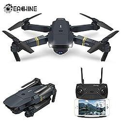 EACHINE Drone Pliable, E58 FPV WiFi Drone avec caméra 2.0MP