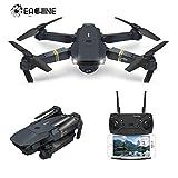 EACHINE Drone con Telecamera, E58 Pieghevole Drone con WiFi FPV HD 720P App Mobile Controllo Grandangolare Selfie Drone...
