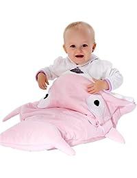 Vlunt de dormir para bebé tiburón versátil nueva Creative anti-tipi muselina manta 100% algodón bebé saco de dormir Primavera y Otoño y Invierno Hold