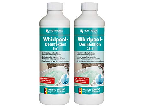 Hotrega H150200 Whirlpool-Desinfektion 2 in 1-2er Set