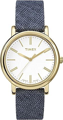 Timex Women's Quartz Watch with White Dial