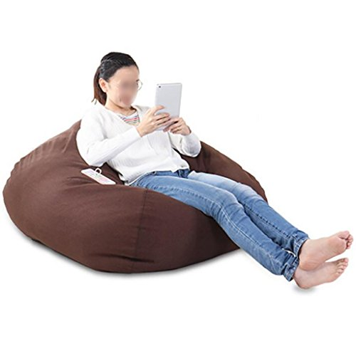 LIANGJUN Puff Lavable Lazy Couch Leyendo Sala Estudiar Cuarto, 4 Color