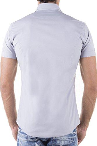 Redbridge - Chemise casual - Col Chemise Classique - Homme Gris