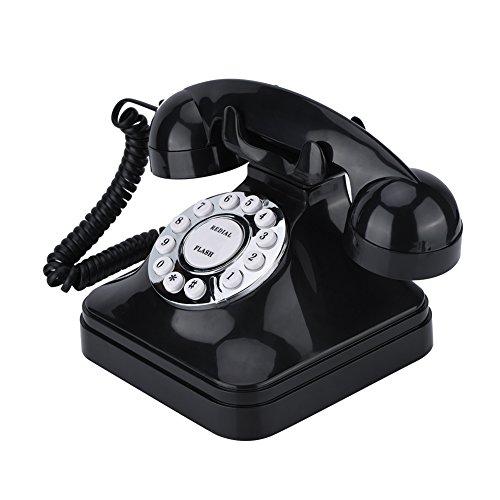Richer-R Teléfono Fijo Retro