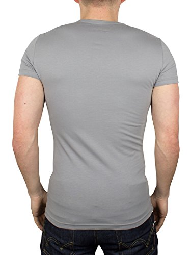 Emporio Armani Herren Unterhemd 111512CC717, 2er Pack Mehrfarbig
