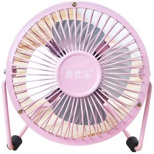 DADAO-USB small fan mute desktop fan portable cooling fan 4