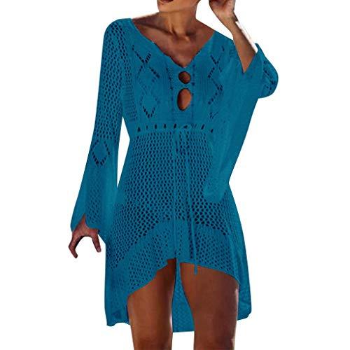 Italily Vestito Donne Costume Da Bagno Abito Da Spiaggia Copricostumi E Parei Sexy Copricostume Da Bagno Estate Copribikini Bikini Cover Up Camicetta Maglia Tunica Top