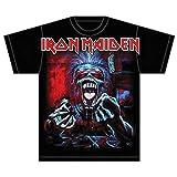Iron Maiden A Read Dead One Camiseta Manga Corta, Negro, X-Large para Hombre