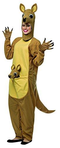 Adult Känguru Kostüm - Rasta Imposta Tasche Känguru Kostüm für Herren
