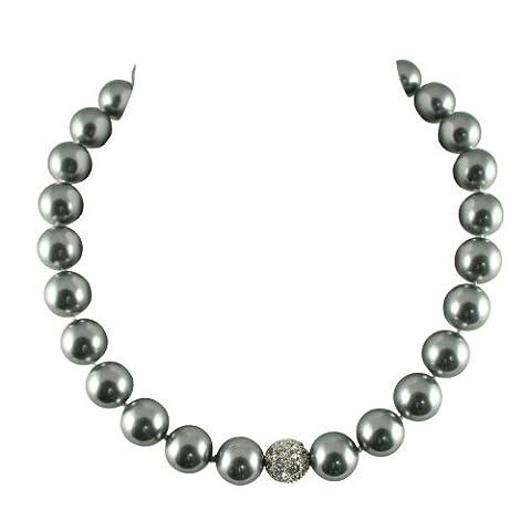La Perla Grey Shell Pearl