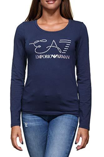 Emporio Armani Ea7 6ZTT84 TJ12Z T-Shirt Donna Blu ...