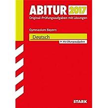 Abiturprüfung Bayern - Deutsch