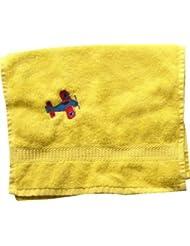 Handtuch aus Frottee mit Bestickung Flugzeug